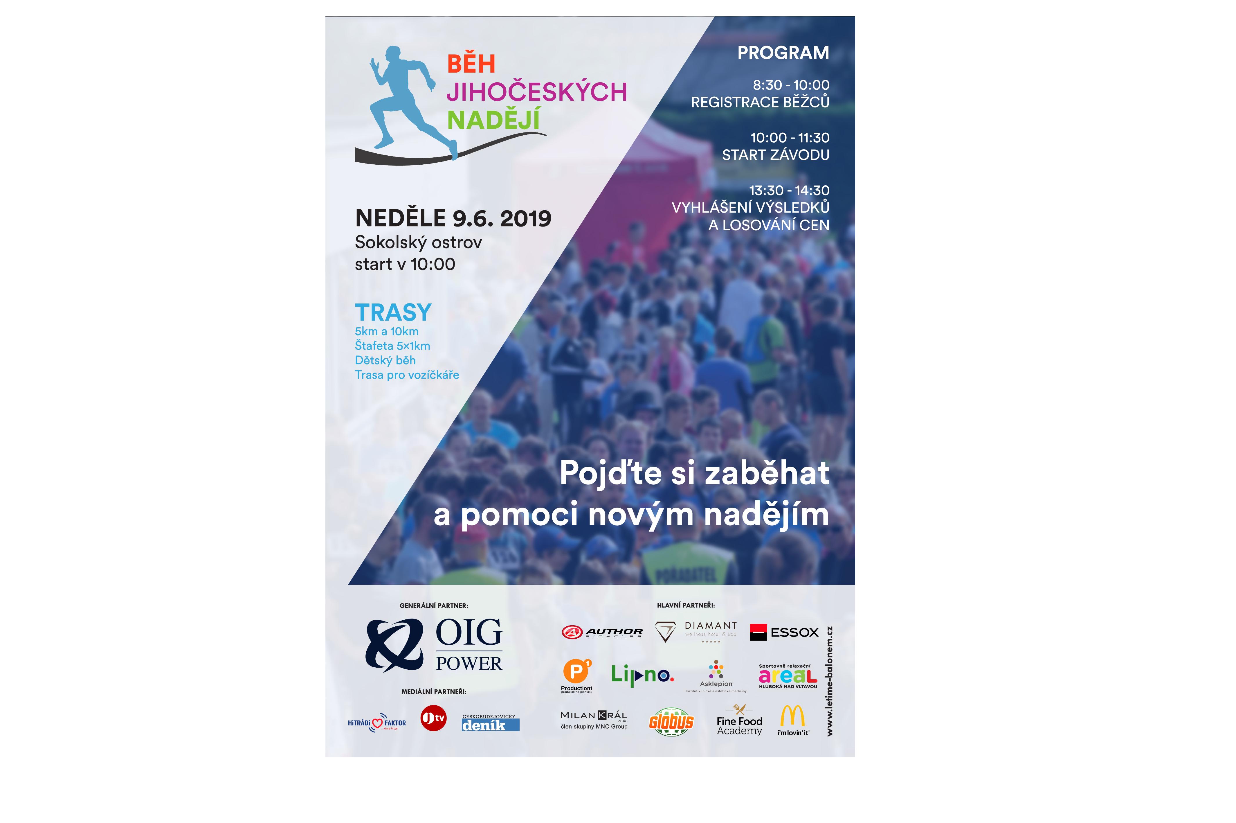 59b3eb0ba Start je naplánován na 10:00, před tím budou probíhat registrace běžců.  Registrovat do závodu se můžete zde, více informací přinášíme na přiloženém  plakátu.