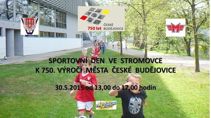 Sportovn� den ve Stromovce k 750. v�ro�� m�sta �esk� Bud�jovice